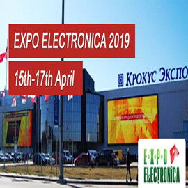 Apr 15-17,2019 Moscow Electronics Exhibition